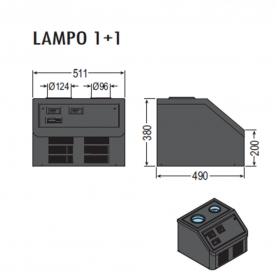 Abbattitore di temperatura LAMPO2 ps35