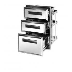 Cassettiera frigo tripla S1/3x3-770 ps70