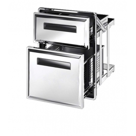 Cassettiera frigo doppia S1/3+2/3-770 ps70