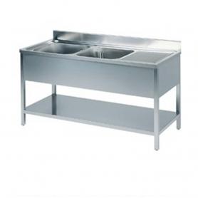 Lavatoio Inox a giorno LRD2.1470 ps250