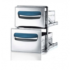 Cassettiera frigo doppia - serie 4000 ps60