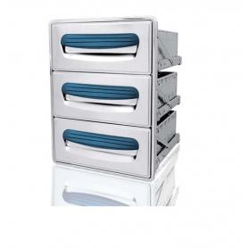 Cassettiera frigo tripla - SERIE 4000 ps70