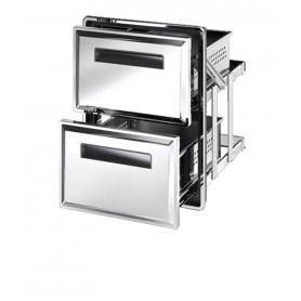 Cassettiera frigo doppia S1/2x2-770 ps60