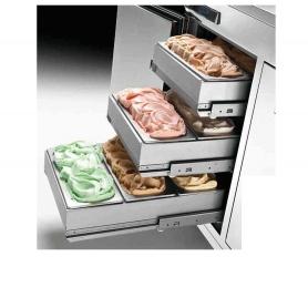 Riserva vaschette gelato vasc. h120