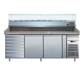 Banco per pizzeria refrigerato PZ2610TN33 ps660
