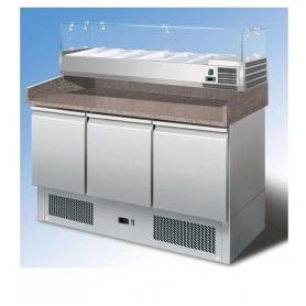 Banco refrigerato per pizzeria S903PZVRX ps402