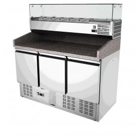 Banco frigo per pizzeria S903PZVRX ps402