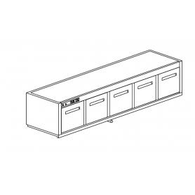 Cella frigo sottobanco CUBO61 TN15 NUC
