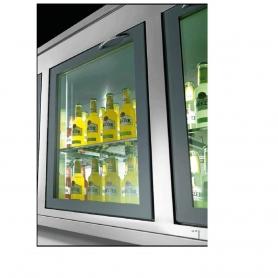 Sportello frigo a vetro SV1/1-77 ps10