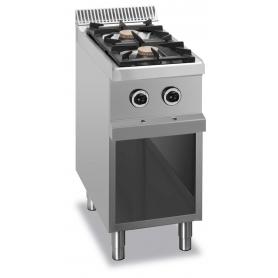 Cucina a gas 2 fuochi