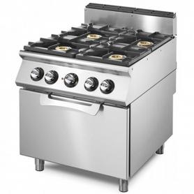 Cucina a gas 4 fuochi VS7080CFG