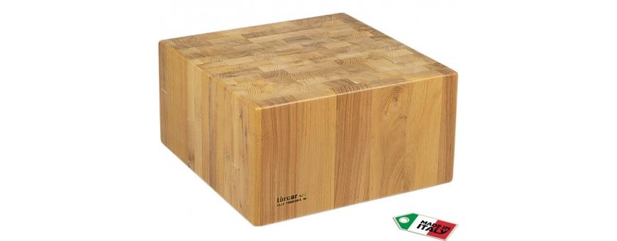 Ceppi in legno spessore batticarne cm. 25
