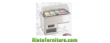 Vasche frigo da incasso DROP-IN per gelato