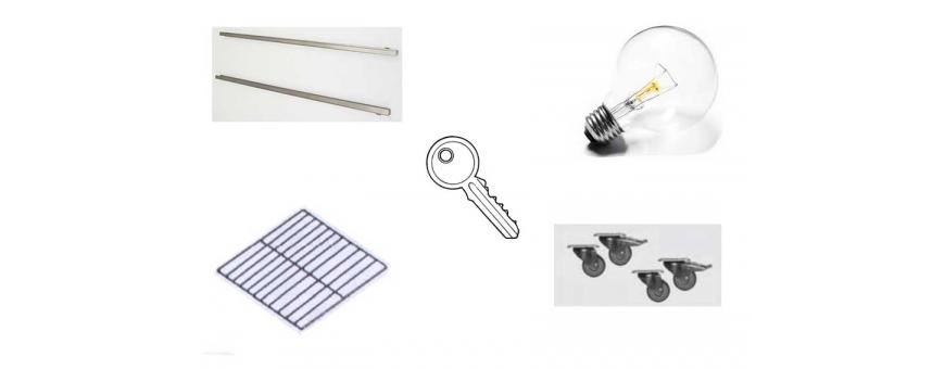 Accessori per armadi frigo inox